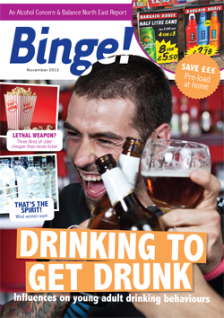 Binge – Drinking to get drunk: Influences on young adult drinking behaviours