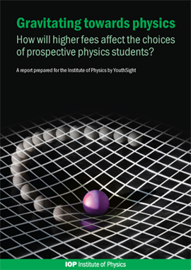 Gravitating towards physics: How will higher fees affect the choices of prospective physics students?