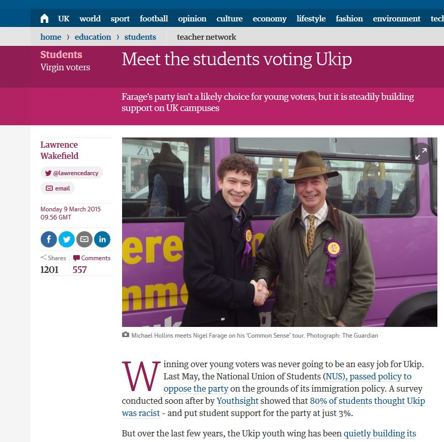 YouthSight in the news - The Guardian - Our data featured